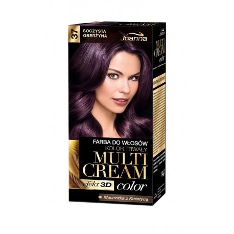 Joanna Multi Cream Color Farba nr 37 Soczysta Oberżyna