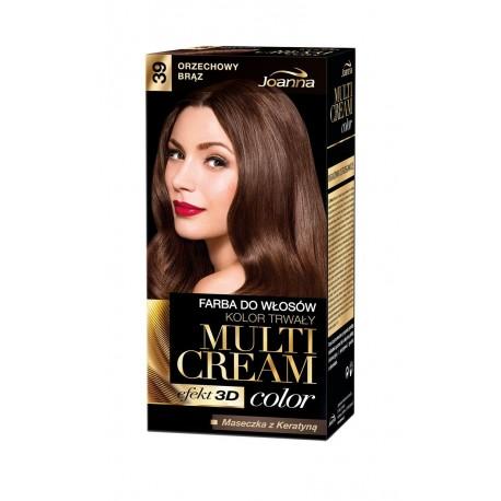 Joanna Multi Cream Color Farba nr 39 Orzechowy Brąz