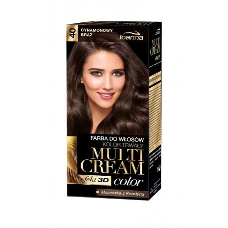 Joanna Multi Cream Color Farba nr 40 Cynamonowy Brąz