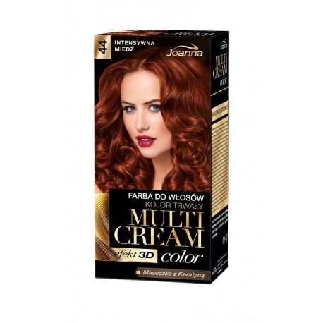 Joanna Multi Cream Color Farba nr 44 Intensywna Miedź