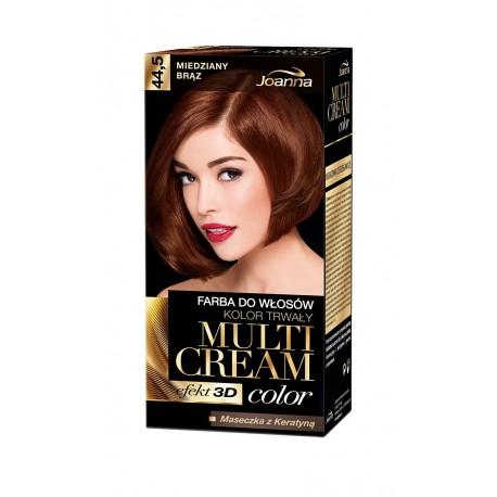 Joanna Multi Cream Color Farba nr 44.5 Miedziany Brąz