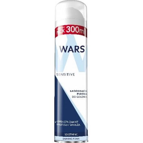 Wars Sensitive Pianka do golenia łagodząca  300ml