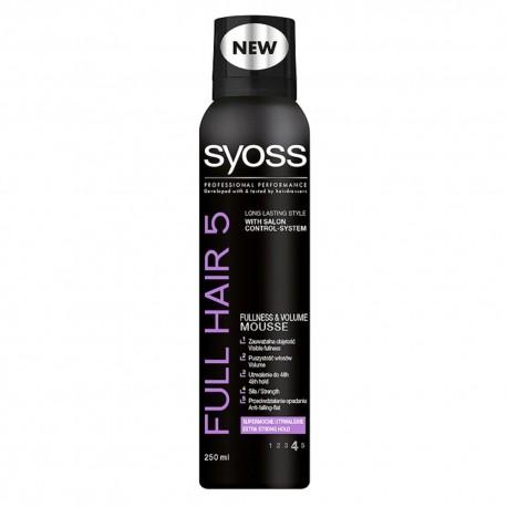 Schwarzkopf Syoss Full Hair 5D Pianka do włosów 250 ml
