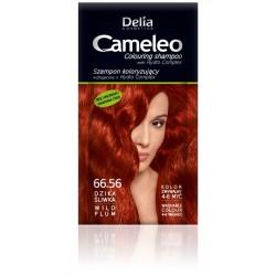 Delia Cosmetics Cameleo Szampon koloryzujący 66.56 dzika śliwka