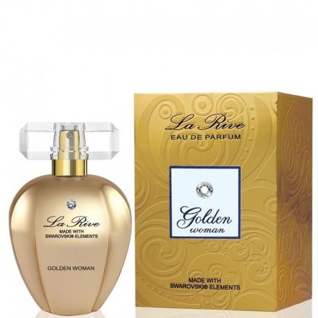 La Rive for Woman Golden Woda perfumowana 75ml z kryształkiem Swarovskiego