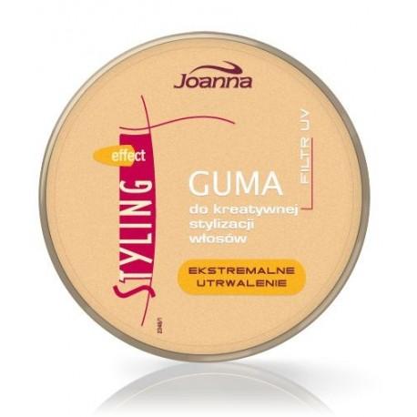 Joanna Styling Effect Guma do kreatywnej stylizacji włosów złota 100g
