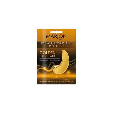 Marion Golden Skin Care Płatki pod oczy kolagenowe  1 op - 2szt