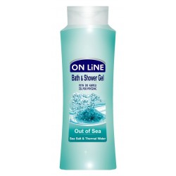 On Line Bath & Shower Gel Płyn do kąpieli i pod prysznic Out Of Sea  750ml