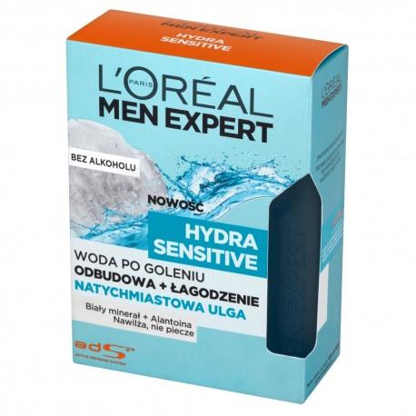 Loreal Men Expert Hydra Sensitive Woda po goleniu bez alkoholu 100ml