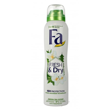 Fa Fresh & Dry Green Tea Dezodorant w sprayu  150ml