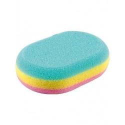 Top Choice Akcesoria kąpielowe Gąbka do kąpieli owalna (30468)  1szt