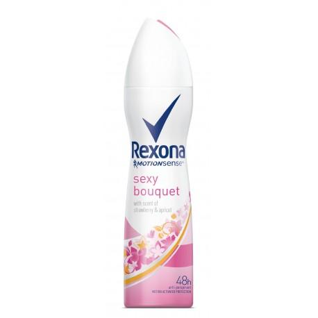 Rexona Motion Sense Woman Dezodorant spray sexy Bouquet  150ml