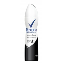 Rexona Motion Sense Woman Dezodorant spray Invisible Black+White 150 ml