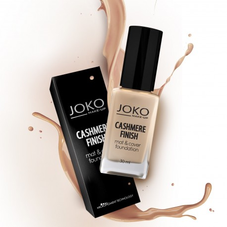 Joko Podkład Cashmere Finish Mat & Cover Foundation J152 beige  30ml