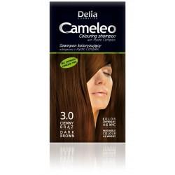 Delia Cosmetics Cameleo Szampon koloryzujący 3.0 ciemny brąz