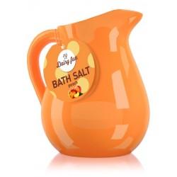 Dairy Fun Sól do kąpieli Brzoskwinia w dzbanuszku  500g