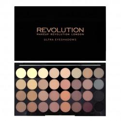 Makeup Revolution Ultra Palette 32 Zestaw cieni do powiek Flawless Matte  16g (32 kolory)