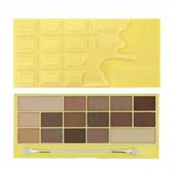 I Heart Makeup Palette Zestaw cieni do powiek Naked Chocolate   22g (16 kolorów)
