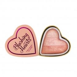 I Heart Makeup Blushing Hearts Róż Peachy Pink Kisses  10g