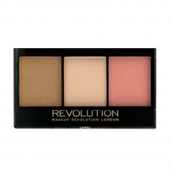 Makeup Revolution Ultra Sculp & Contour Zestaw do korygowania twarzy Kit Fair C01  11g