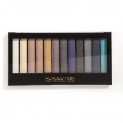 Makeup Revolution Redemption Palette 12 Zestaw cieni do powiek Day to Night  14g (12 kolorów)