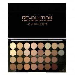 Makeup Revolution Ultra Palette 32 Zestaw cieni do powiek Beyond Flawless  16g (32 kolory)