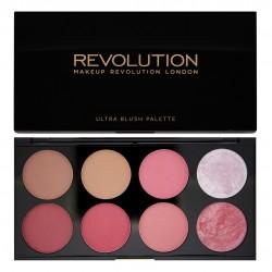 Makeup Revolution Ultra Blush Palette 8 Zestaw róży do policzków Sugar and Spice 13g