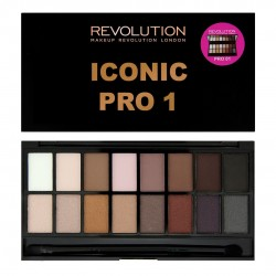 Makeup Revolution Salvation Palette 16 Zestaw cieni do powiek Iconic Pro 1 (16 kolorów) 16g