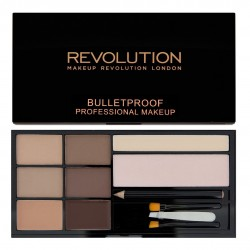 Makeup Revolution Ultra Brow Zestaw do stylizacji brwi Fair to Medium  1op.