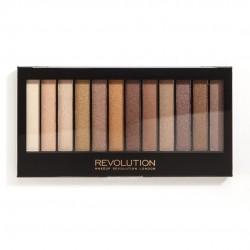 Makeup Revolution Redemption Palette 12 Zestaw cieni do powiek Essential Shimmers   14g (12 kolorów)