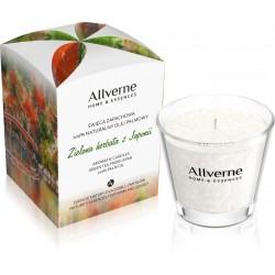 Allverne Home & Essences Świeca zapachowa - Zielona Herbata z Japonii  170g