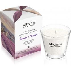 Allverne Home & Essences Świeca zapachowa - Lawenda z Prowansji  170g