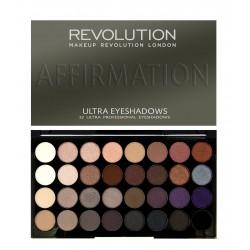 Makeup Revolution Ultra Palette 32 Zestaw cieni do powiek Affirmation  16g (32 kolory)