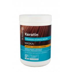 Dr.Sante Keratin Hair Maska odbudowująca do włosów łamliwych i matowych  1000ml
