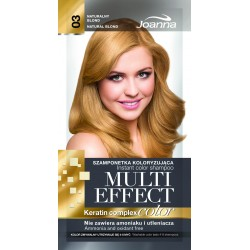 Joanna Multi Effect Color Keratin Complex Szamponetka 03 Naturalny Blond  35g
