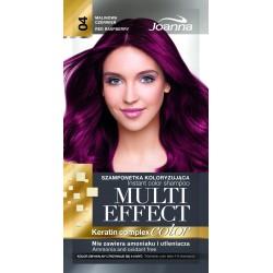 Joanna Multi Effect Color Keratin Complex Szamponetka 04 Malinowa Czerwień  35g