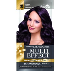 Joanna Multi Effect Color Keratin Complex Szamponetka 08 Soczysta Oberżyna  35g