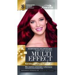 Joanna Multi Effect Color Keratin Complex Szamponetka 05 Porzeczkowa Czerwień  35g
