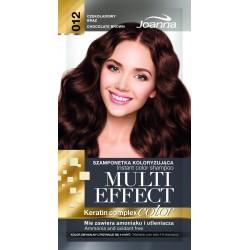 Joanna Multi Effect Color Keratin Complex Szamponetka 12 Czekoladowy Brąz  35g