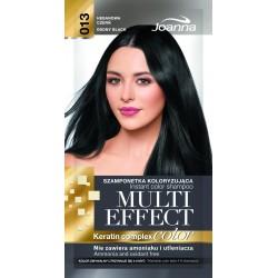 Joanna Multi Effect Color Keratin Complex Szamponetka 13 Hebanowa Czerń  35g
