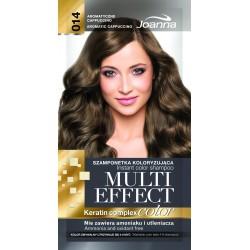 Joanna Multi Effect Color Keratin Complex Szamponetka 14 Aromatyczne Cappuccino  35g