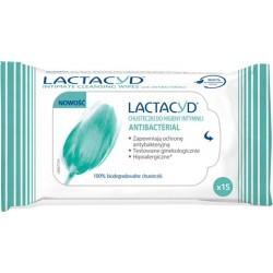 Lactacyd Antibacterial Chusteczki do higieny intymnej  1op.- 15szt