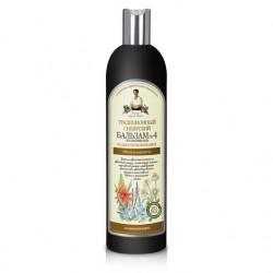 Receptury Babuszki Agafii Balsam syberyjski tradycyjny Nr 4 puszystość i lekkość 550 ml