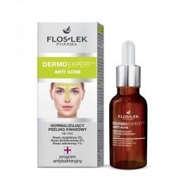 Floslek Pharma Dermo Expert Anti Acne Peeling kwasowy normalizujący na noc 30ml