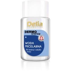 Delia Cosmetics Dermo System Woda micelarna do demakijażu Mini 50ml