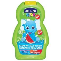 On Line Kids Szampon 2w1 Arbuz  250ml