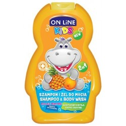 On Line Kids Szampon 2w1 Egzotyczny Koktajl  250ml