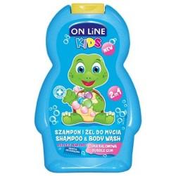 On Line Kids Szampon 2w1 Guma Balonowa  250ml