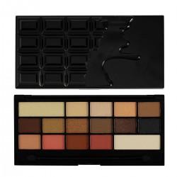 I Heart Makeup Palette Zestaw cieni do powiek Chocolate Vice  22g (16 kolorów)
