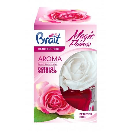 Brait Magic Flower Dekoracyjny Odświeżacz powietrza Beautiful Rose  75ml